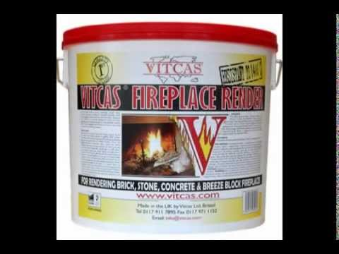VITCAS Render and Heat Resistant Plaster Work Instructions