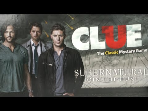 Clue: Supernatural Collector's Edition from USAopoly