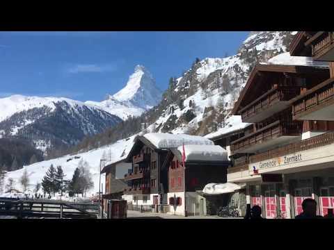 🇨🇭Switzerland Zermatt Zürich 🎿   Travel Diary March 2018