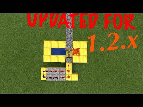 How to build a Cobblestone Generator • UPDATED FOR 1.2 • Minecraft