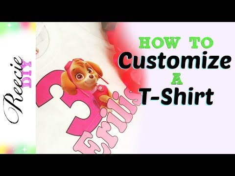 How to Customize a T-Shirt with Iron-On Transfers