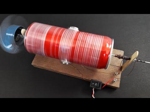 How to make DC MOTOR using  Neodymium Magnet