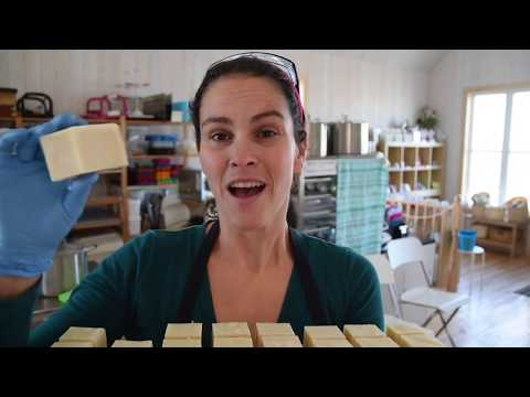 Making Softy Baby Cold Processed Soap