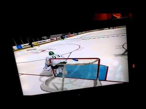 NHL 14 - Goalie Training