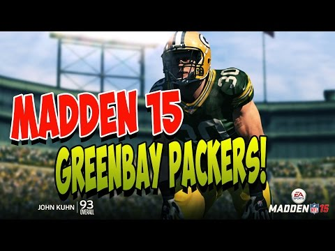Madden 15 | Greenbay Packers Offense Pass heavy | Madden 15 best Playbooks