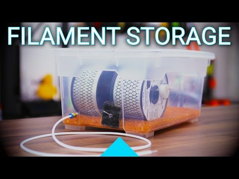 How to keep your filament dry: Make a storage box!