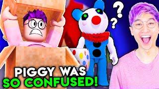 Can You Escape ROBLOX PIGGY CARNIVAL!? (BOX DISGUISE)