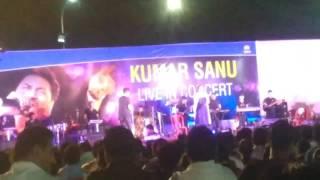 Kumar sanu live concert@ Noamundi# TATA STEEL(2)