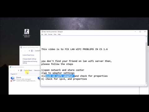 How to fix Lan wifi server Problem!! 2017 Updated FIX
