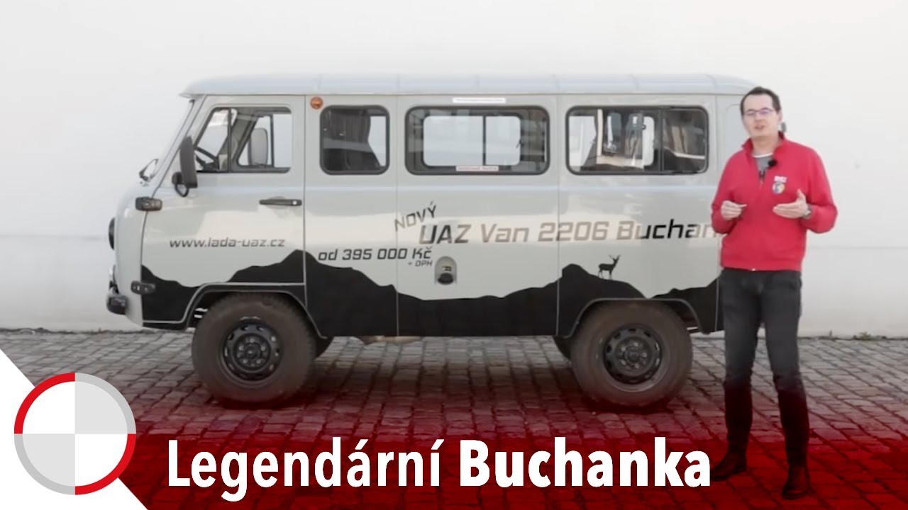 Martin Vaculík a UAZ 2206 Buchanka: To se stále vyrábí?!