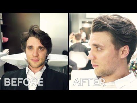Mens Haircut David Beckham Hairstyle Tutorialoy9go Videostube
