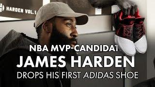 da44755c74b NBA MVP-Candidate James Harden drops his first Adidas shoe