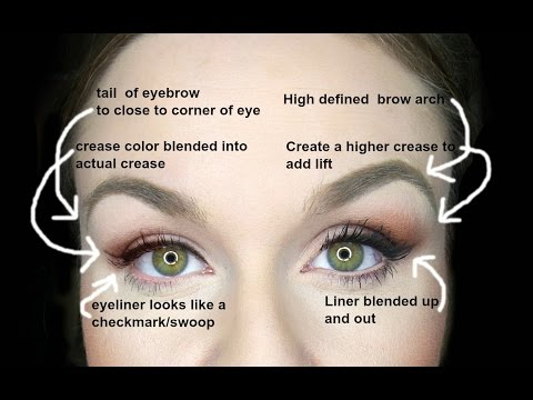 DROOPY EYES MAKEUP!  EASY FIXES FOR INSTANT EYELIFT!