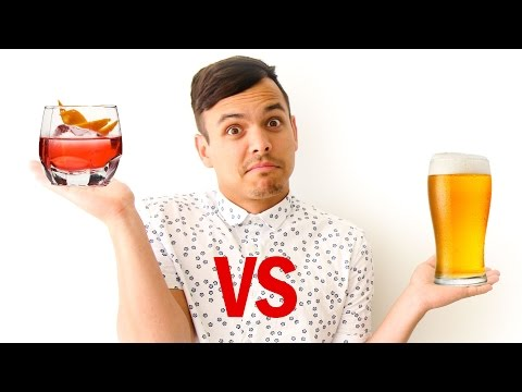 Beer vs. Liquor