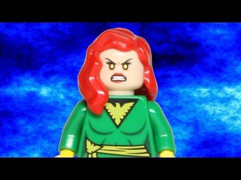 LEGO Jean Grey Phoenix Minifigure SDCC San Diego Comic Con 2012 LEGO Marvel Super Heroes Review
