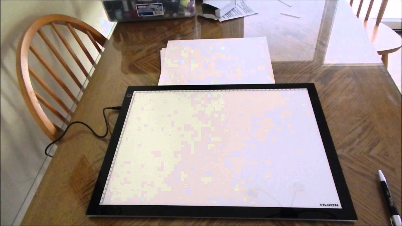 HUION A3 Light Pad Review