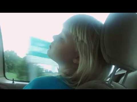 My sister falls asleep on long car trip!!