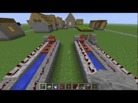 Minecraft 1.7.4 & Xbox 360: TNT Cannon! (Tutorial)
