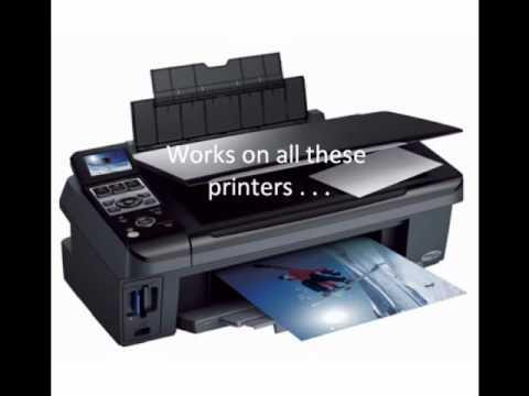 Epson Printer Waste Ink Pad Error Counter Reset Fix