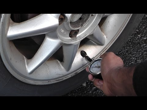 How to Check Tire Pressure - Checking Tire Pressure