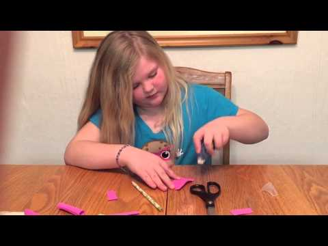 How to make a pencil grip by Ruby