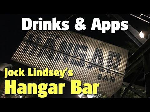 Drinks & Apps | Jock Lindsey's Hangar Bar | Disney Springs