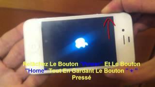 tuto comment réparer un iphone bloqué sur la pomme au démarrage