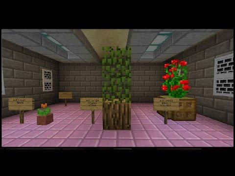 Contoh contoh pot bunga Minecraft pe