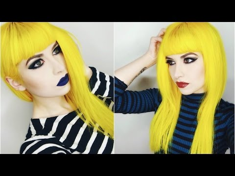 Dying My Hair Yellow Tutorial Using Arctic Fox from Jingleheartart