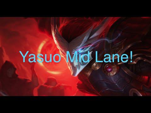 Yasuo Mid - League of Legends