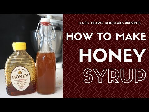 Simple Sundays: How to Make Honey Syrup