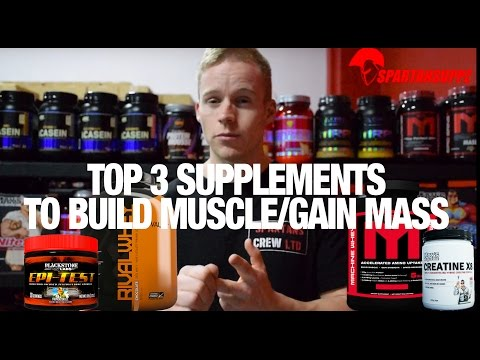 Top 3 Supplements to Build Muscle & Gain Size in 2016 Muscle Mass | Spartansuppz.com