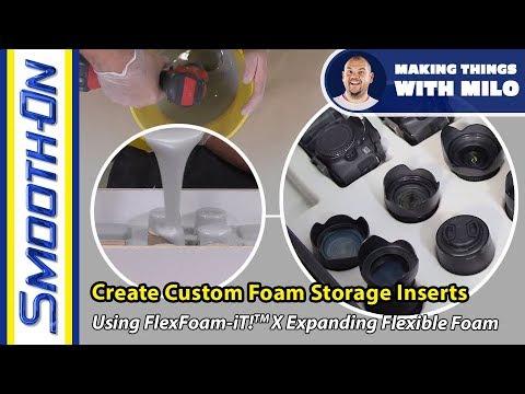 How To Make Custom Foam Storage Inserts - Foam Casting Tutorial