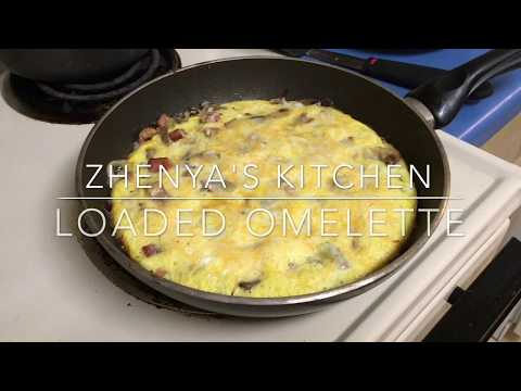 How to Make a Loaded Omelette