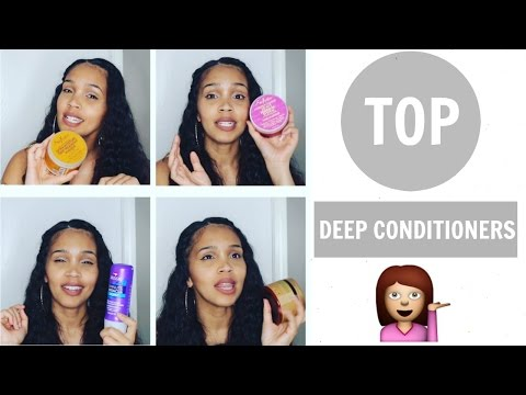 TOP 5 DEEP CONDITIONERS FOR NATURAL CURLY HAIR SHEA MOISTURE, AUSSIE MOIST, DIY