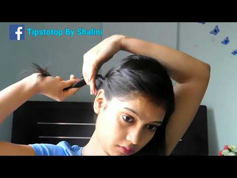 3 Easy Summer Hairstyle / Easy Hairstyle Step By Step Tutorial 2018 / TipsToTop By Shalini
