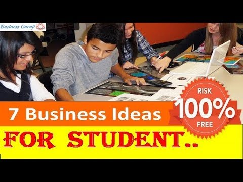 7 Small Business Ideas for Students-100% Risk Free ! New Business Ideas !