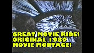 Great Movie Ride Original 1989 Movie Montage Ending from Walt Disney World Hollywood Studios