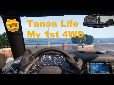 Buying My 1st 4x4 4WD car in Tanoa Life Apex