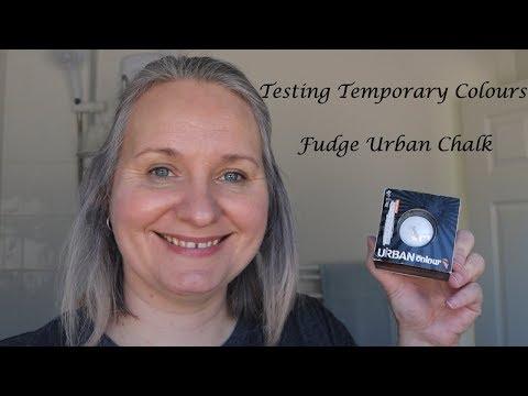Grey Transition - Temporary Colours - Fudge Urban Chalk