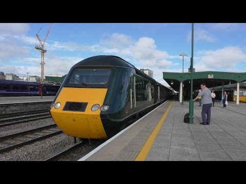 Train spotting Cardiff central July 28th 2016