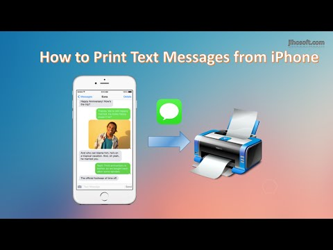 Top 3 Ways to Print Text Messages from iPhone 6S/6/5S/5/4S/4