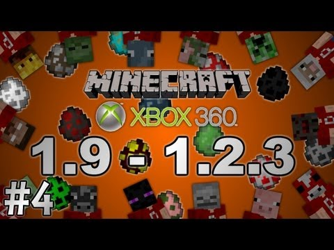 (OUTDATED) [Minecraft Xbox 360] 1.9 - 1.2.3 Updates Info #4: Spawn Eggs
