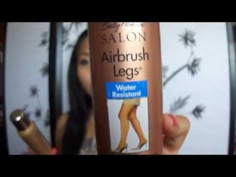Review & Test:  Sally Hansen Salon Airbrush Leg Make-up