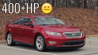 400HP Ford Taurus SHO Car Review! - Acceleration of a Sleeper!