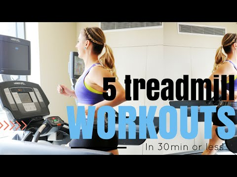 5 Treadmill Workouts You Can Do in 30-min or Less