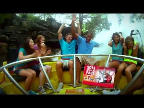 Six Flags Magic Mountain Season Passes