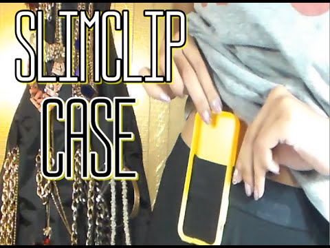 How To Hold Your Phone While Working Out - SlimClip Case