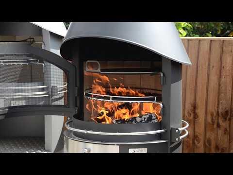 Girse Design: Exclusive Duo Outdoor Barbecue