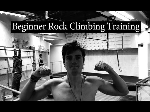 Beginner Rock Climbing Training